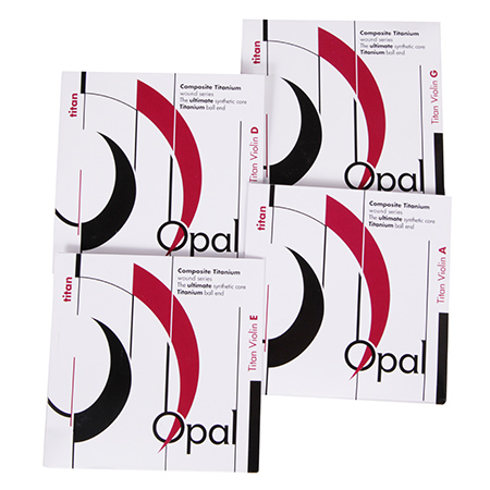 Fortune OPAL Titan violin strings SET