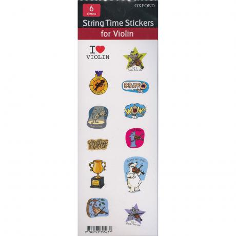 Blackwell, K. & D.: String Time Stickers – Violin