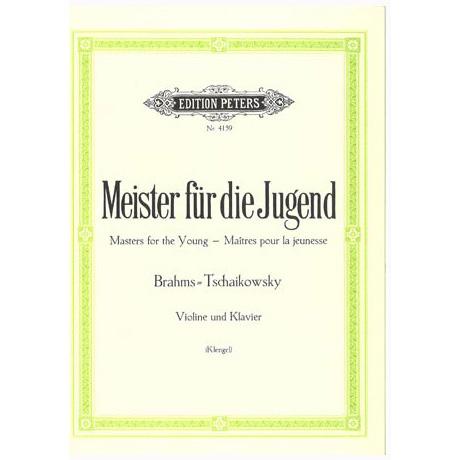 Meister für die Jugend Band 4 – Brahms, J. + Tschaikovsky, P. I.