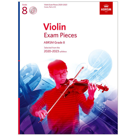 ABRSM: Violin Exam Pieces Grade 8 (2020-2023) (+CD)