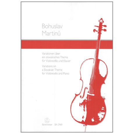 Martinů, B.: Variationen über ein slowakisches Thema