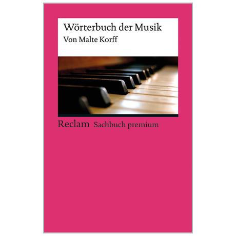 Korff, M.: Wörterbuch der Musik