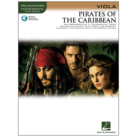 Badelt, K.: Pirates of the Caribbean (+OnlineAudio)