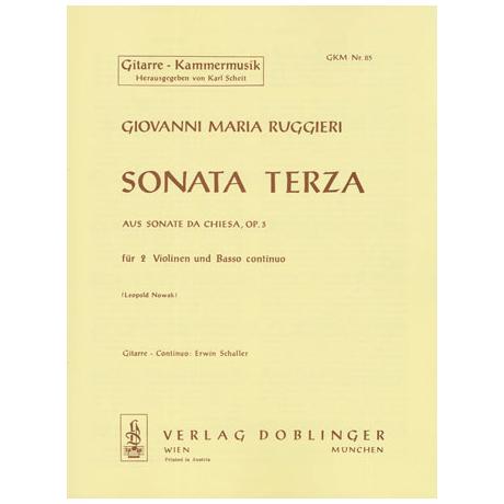 Ruggieri, G. M.: Sonata terza B-Dur Op. 3