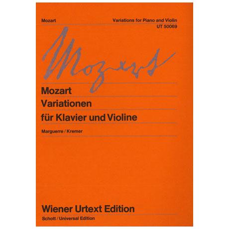 Mozart, W. A.: Variationen KV 359 & 360