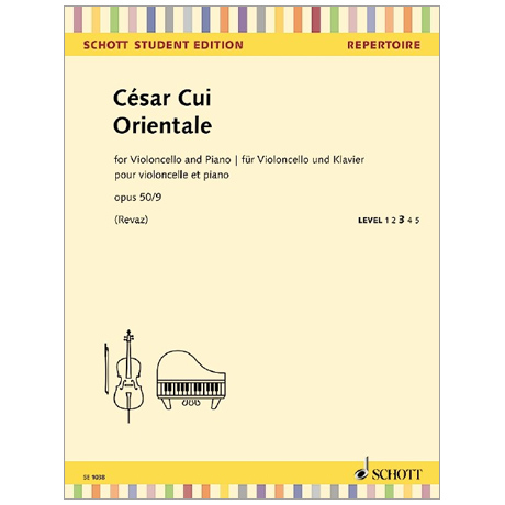 Cui, C.: Orientale Op. 50/9