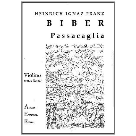 Biber, H. I. F.: Passacaglia