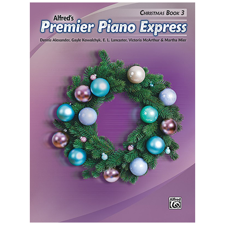 Alfred's Premier Piano Express – Christmas Book 3
