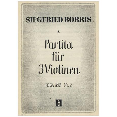 Borris, S.: Partita Op. 23