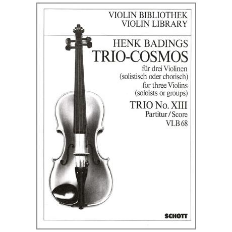 Badings, H. H.: Trio-Cosmos Nr. 13