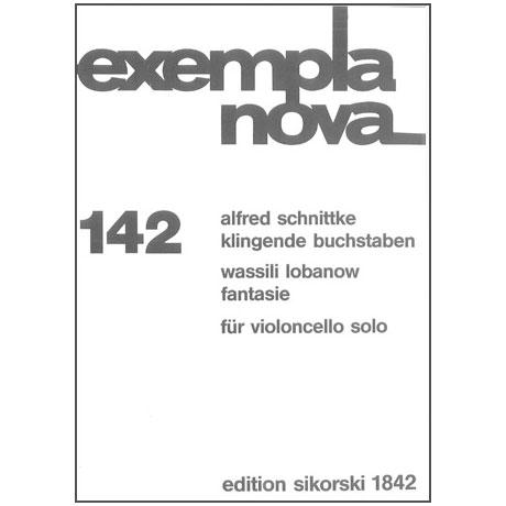 Schnittke, A. / Lobanow, W.: Klingende Buchstaben / Fantasie