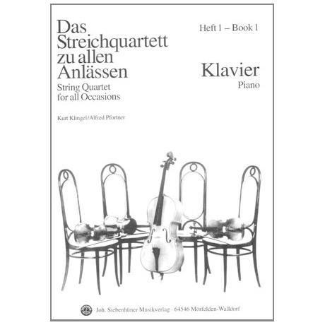 Das Streichquartett zu allen Anlässen Band 1 – Klavierbegleitung