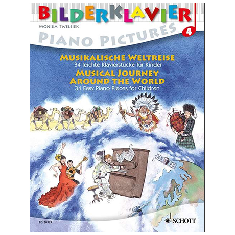 Bilderklavier - Musikalische Weltreise