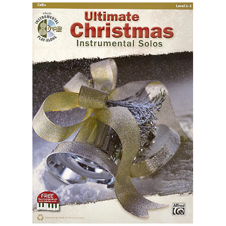 Ultimate Christmas Instrumental Solos for Cello (+CD)