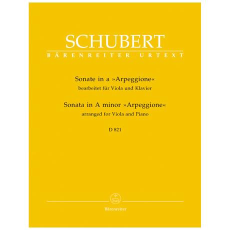 Schubert, F.: Violasonate D 821 a-Moll »Arpeggione«