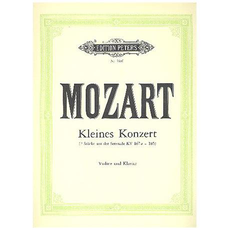 Mozart, W. A.: Kleines Violinkonzert KV 185 F-Dur