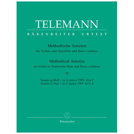 Telemann, G. Ph.: Methodische Sonaten – Band 3