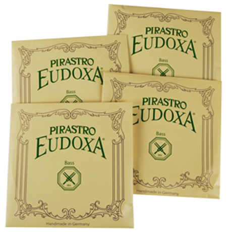 PIRASTRO Eudoxa bass strings SET