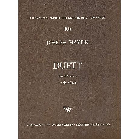 Haydn, J.: Duett Hob. XII: 4
