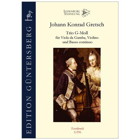 Gretsch, J. K.: Trio g-Moll