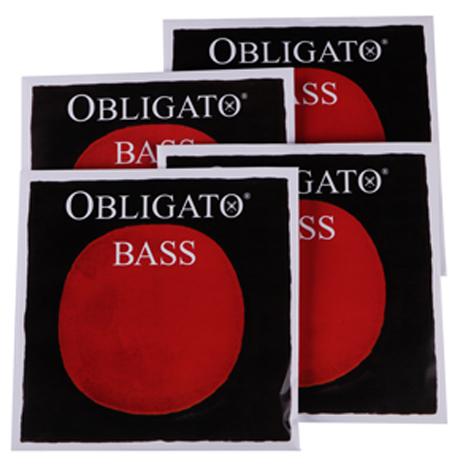 PIRASTRO Obligato bass strings SET