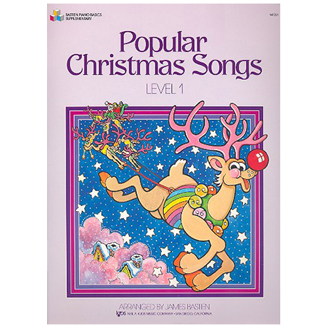 Bastien, J.: Popular Christmas Songs - Stufe 1