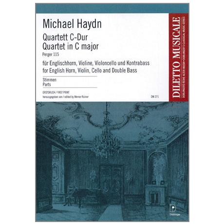 Haydn, M.: Quartett P 115 C-Dur