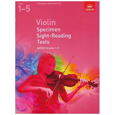 ABRSM: Violin Specimen Sight-Reading Tests – Grades 1-5 (From 2012)