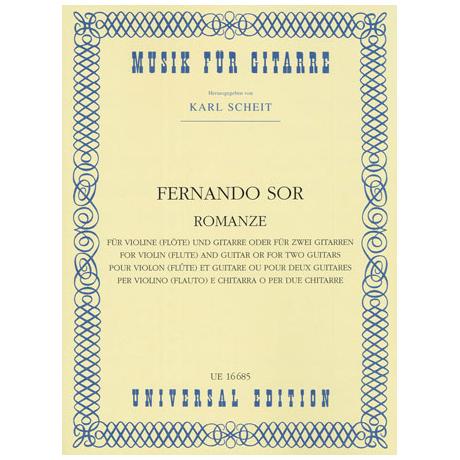 Sor, F.: La Romanza op.posth.