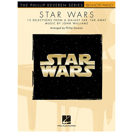 Williams, J.: Star Wars for Big-Note Piano