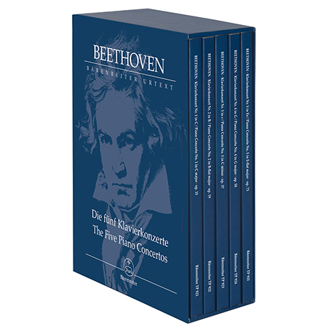 Beethoven, L. v.: Die fünf Klavierkonzerte