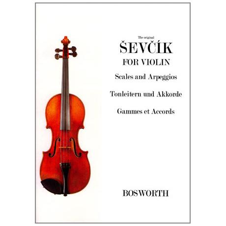 Sevcik, O.: Tonleitern und Akkorde