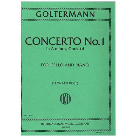 Goltermann, G.: Violoncellokonzert Nr. 1 Op. 14 a-moll