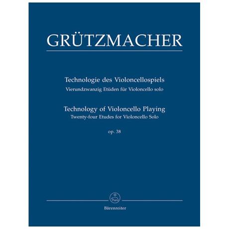 Grützmacher, F.W.: Technologie des Violoncellospiels Op. 38