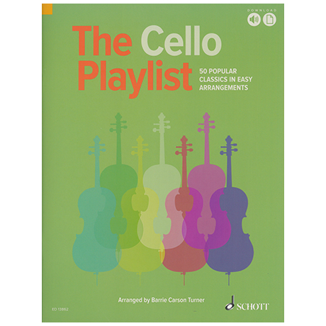Carson Turner, B.: The Cello Playlist (+Online Audio)