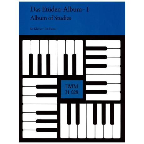 Das Etüden-Album für Klavier Heft 1