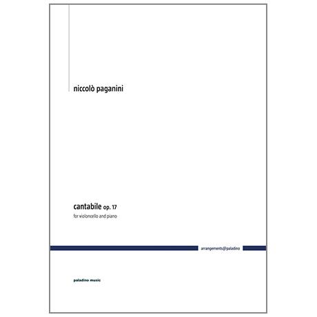 Paganini, N.: Cantabile Op. 17