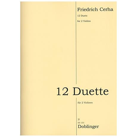 Cerha, F.: 12 Duette