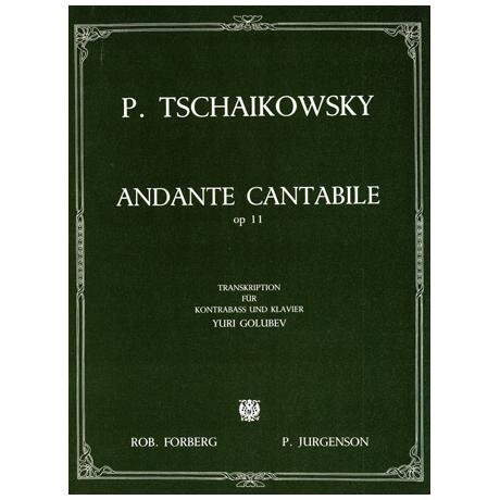 Tschaikowsky, P. I.: Andante Cantabile op.11