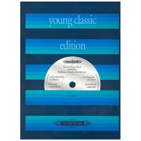 Leichte Sonatinen und Stücke (Young Classic Edition)
