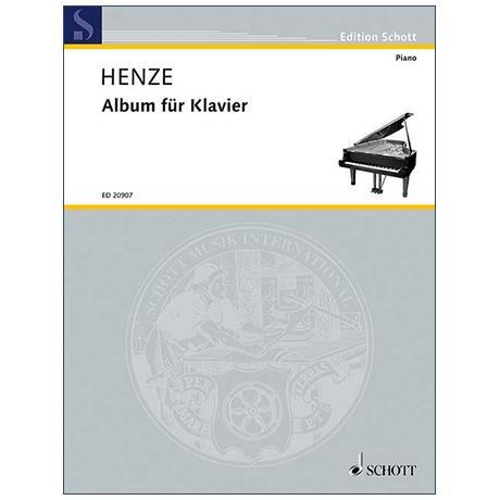 Henze, H.W.: Album für Klavier