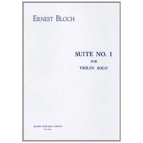 Bloch, E.: Suite Nr. 1