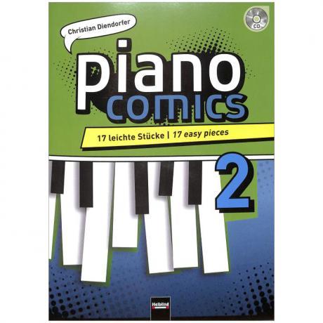 Diendorfer, C.: piano comics 2 (+CD)