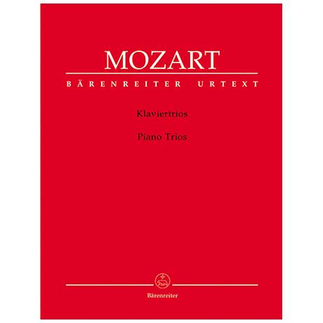 Mozart, W. A.: Sämtliche Klaviertrios