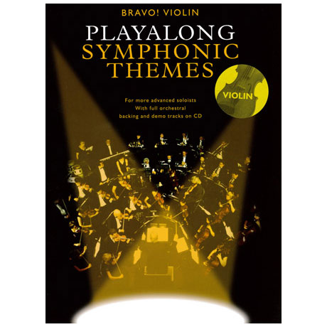 Bravo! Violin - Playalong Symphonic Themes (+CD)