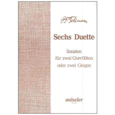 Telemann, G. Ph.: 6 Duette