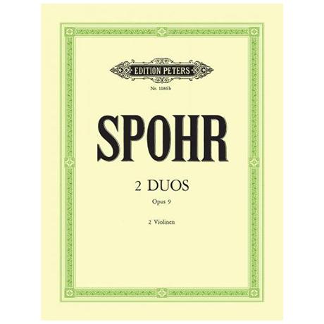 Spohr, L.: 2 Duos Op. 9