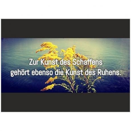 Postkarte »Kunst des Schaffens«