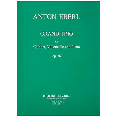 Eberl, A.: Grand Trio Op. 36 Es-Dur