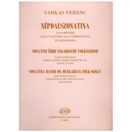 Farkas, F.: Kontrabasssonatine über ungarische Volkslieder